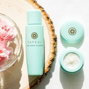 TATCHA Pore Perfecting Moisturizer & Cleanser Duo